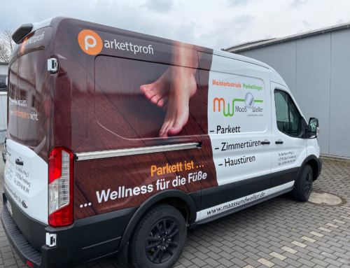 Fahrzeugbeschriftung Maaß & Weller